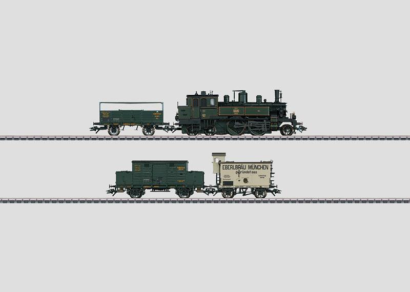 Bayerischer Güterzug.