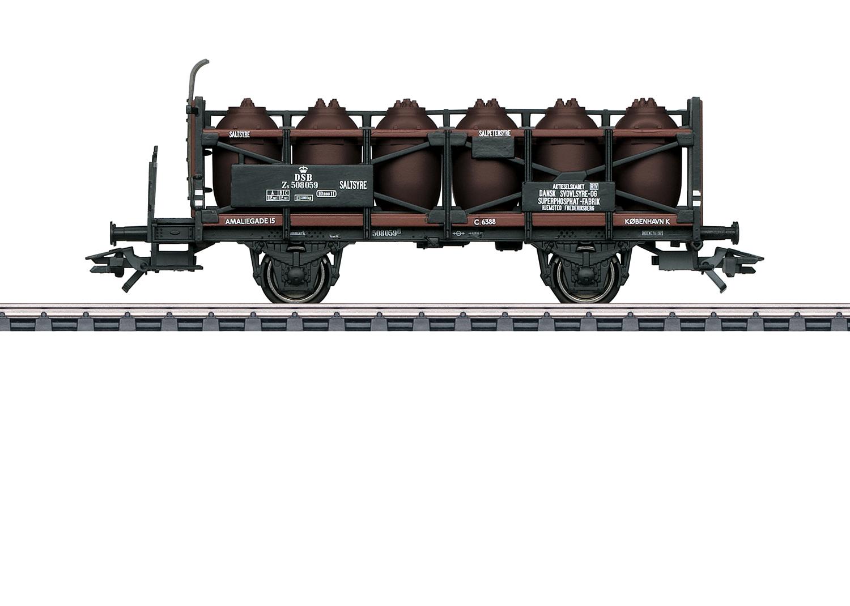 Säuretopfwagen mit Bremserbühne