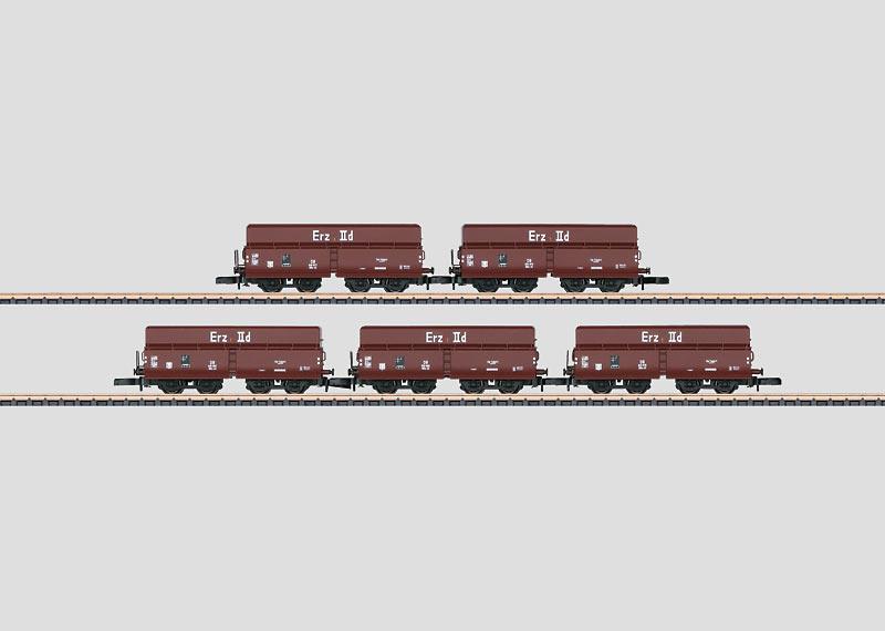 "Güterwagenset ""Erztransport""."