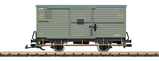 Sächsischer Güterwagen 1531K