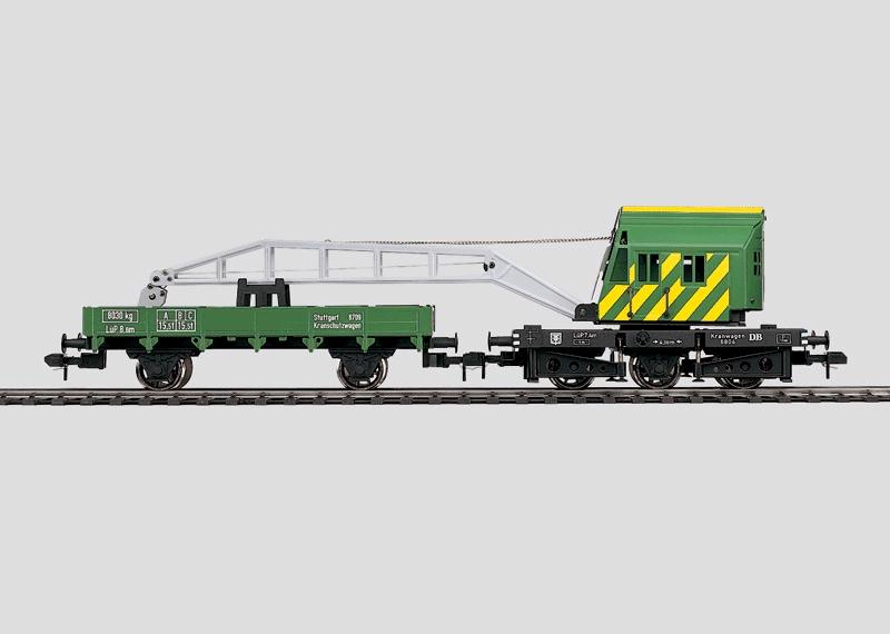Digitally Controlled Crane Car Set.