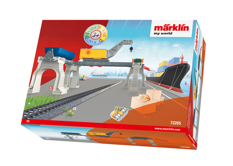 "Märklin my world - ""Loading Station"" Building Kit (Click and Mix)."