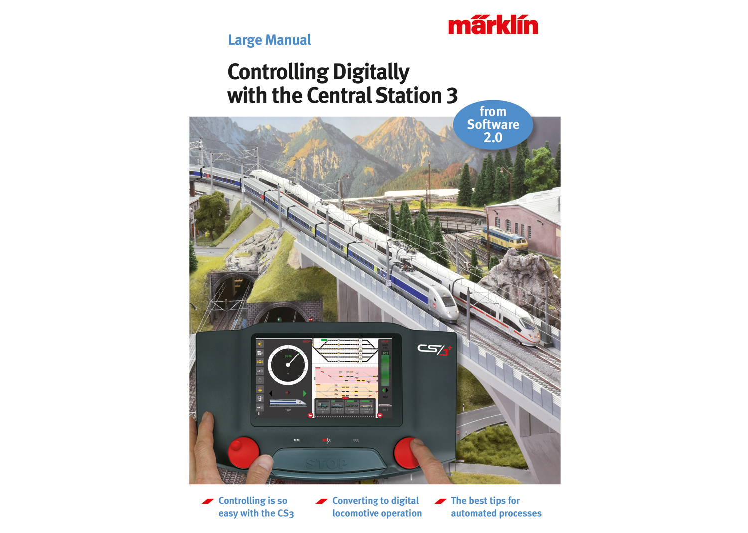 """""""Controlling Digitally with the Central Station 3"""" Model Railroad Manual"""