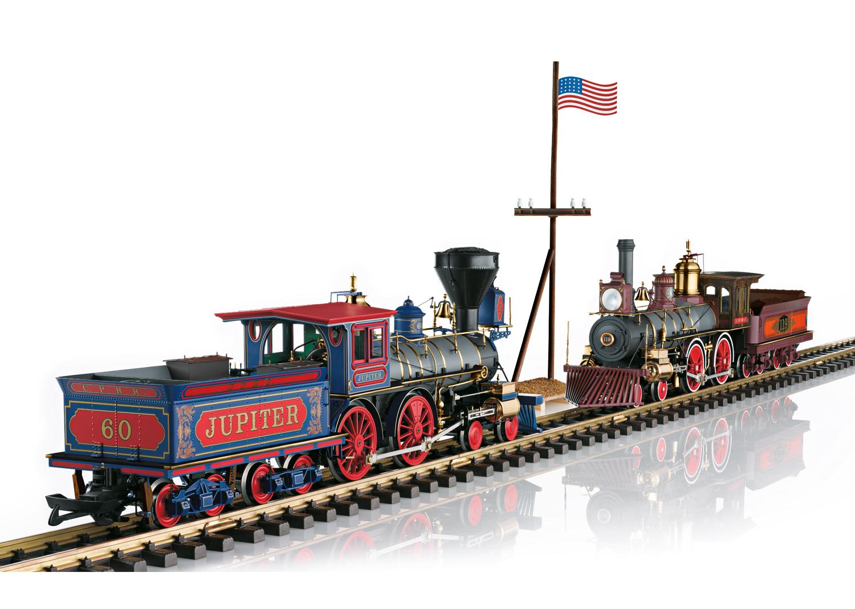 Golden Spike Steam Locomotive Set