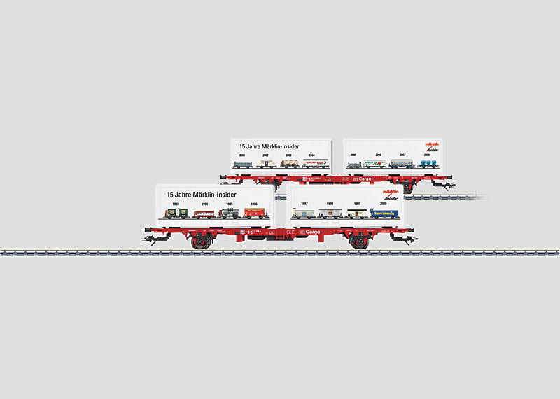 Flat Car for Containers (H0)