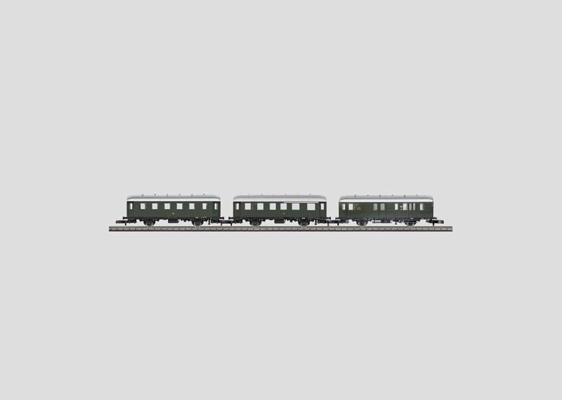 Standard Design Branch Line Car Set.