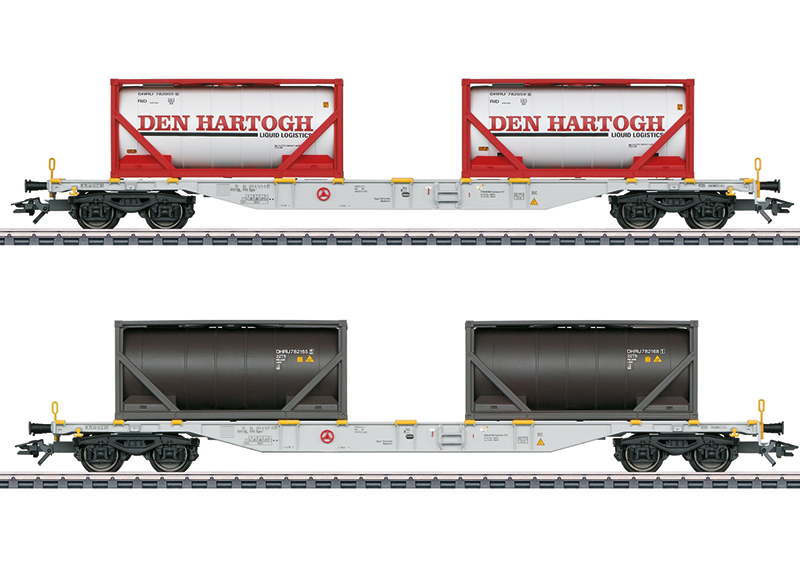Set containerwagens Sgns