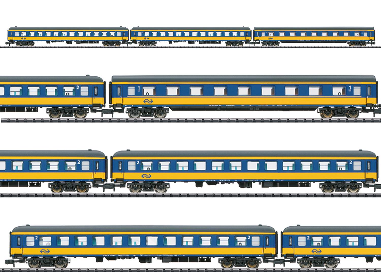 """Schnellzug-Wagenset """"ICL"""""""
