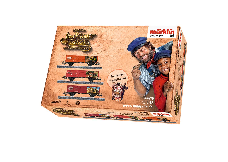 """Märklin Start up – """"King Alfons, Mrs. Waas and Mr. Ärmel"""" Gondola Car Set"""