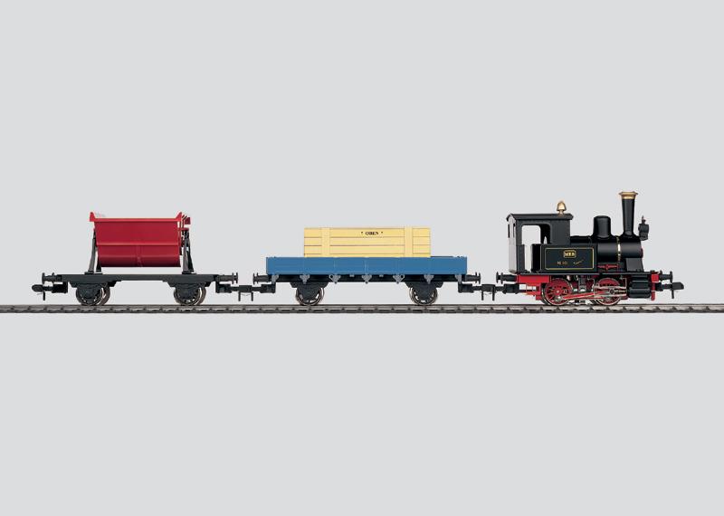 Coffret de départ Maxi «Train de marchandises»
