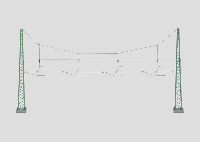 Cross Span Assembly for 4 Tracks
