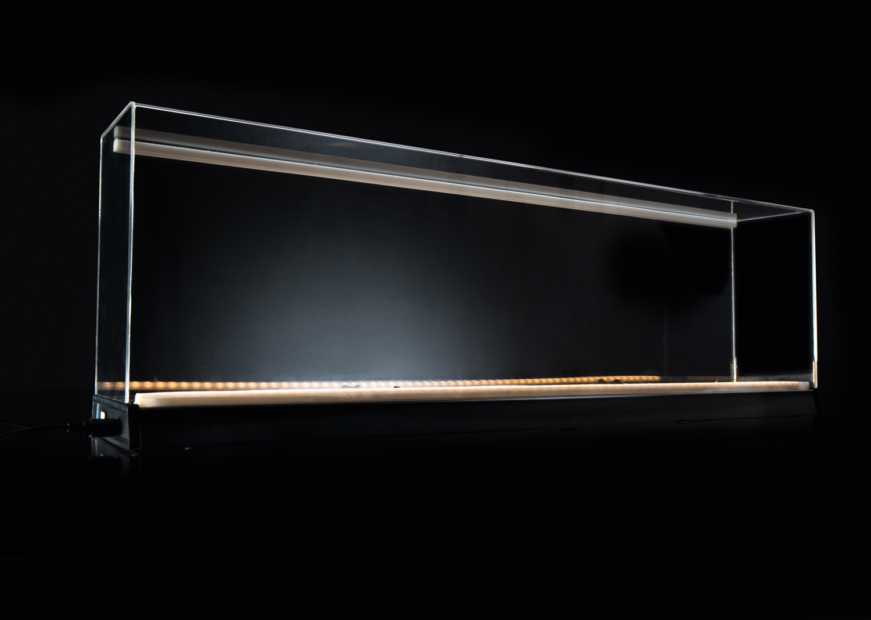 Working Display Case for 1 Gauge, Long Version