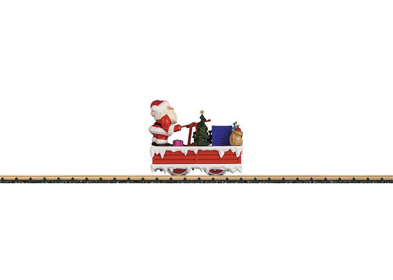 Christmas Handcar