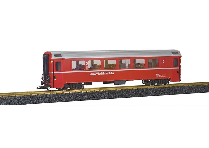 RhB-Personenwagen EW IV 2. Klasse