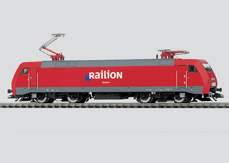 Güterzug-Elektrolokomotive