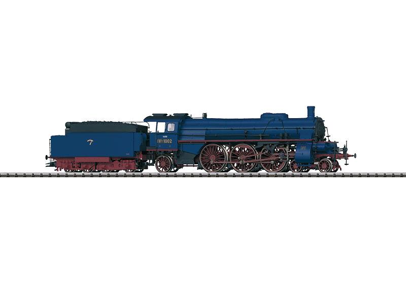 Schlepptender-Schnellzuglokomotive.
