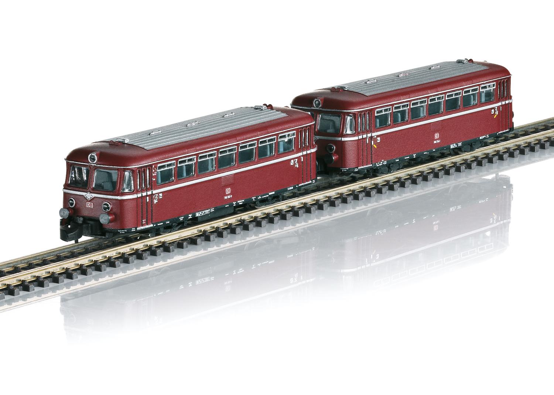 Rail Bus with Trailer Car