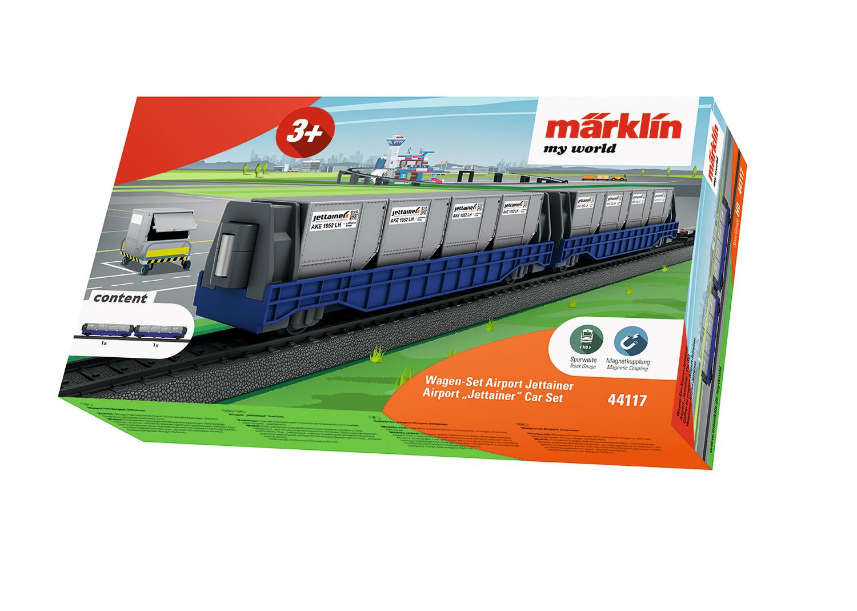 "Märklin my world – Airport ""Jettainer"" Car Set"
