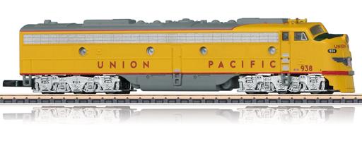 Locomotive diesel-électrique US E8A