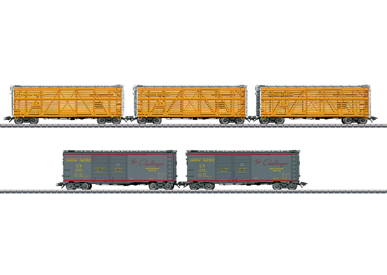 US Güterwagenset
