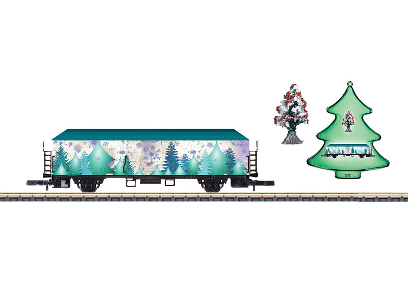 Z Gauge Christmas Car for 2015