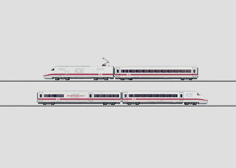 ICE 2 High Speed Train.