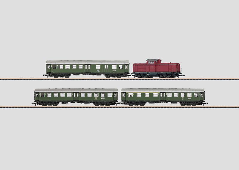 DB Commuter Train Set.