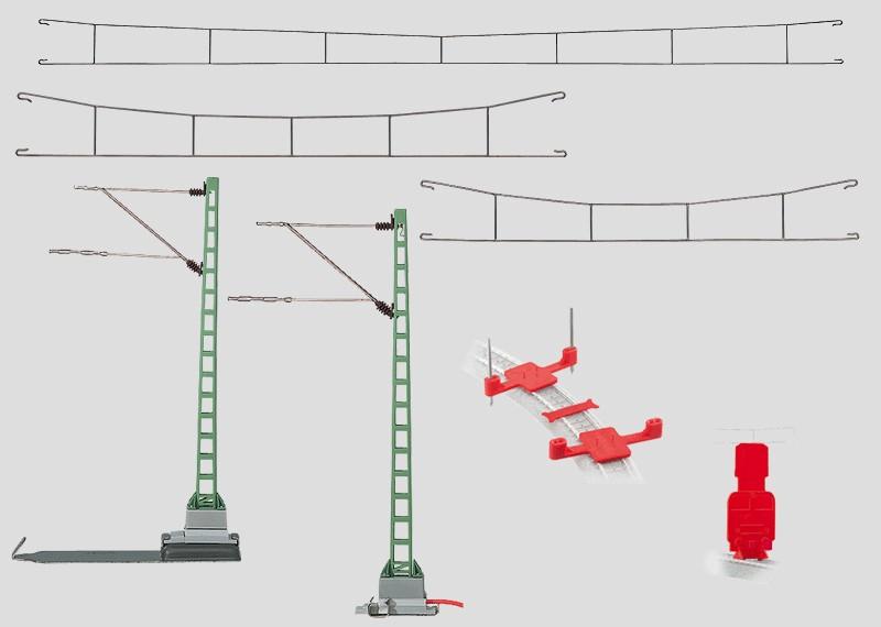 basic catenary set märklin rapid start ballast wiring basic catenary set