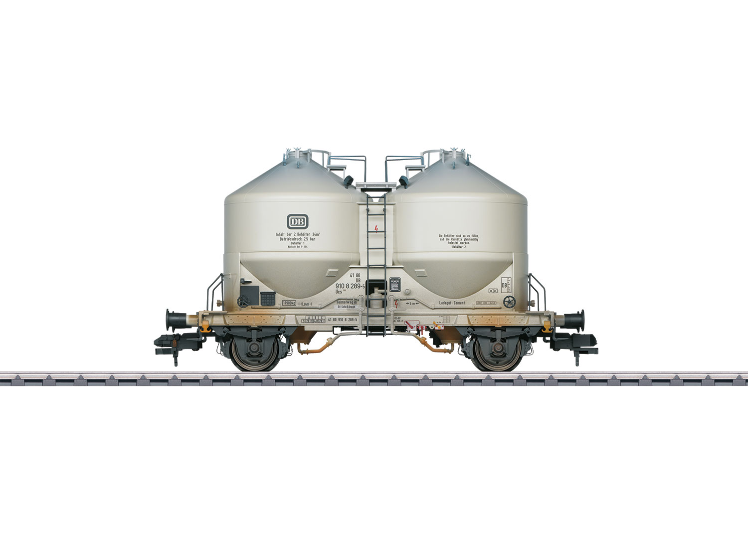 Powdered Freight Silo Container Car