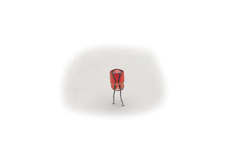Steckglühlampe rot, 5 Volt, 10 Stück