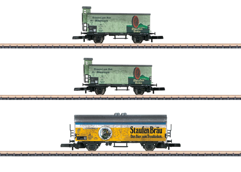 """Staufen-Bräu"" Freight Car Set"