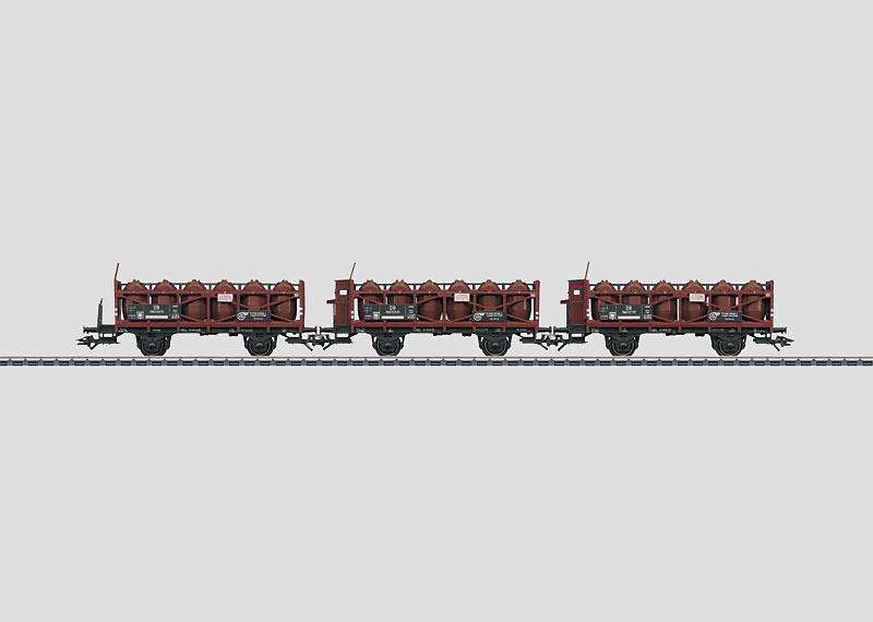 Set Zuurflessenwagens.