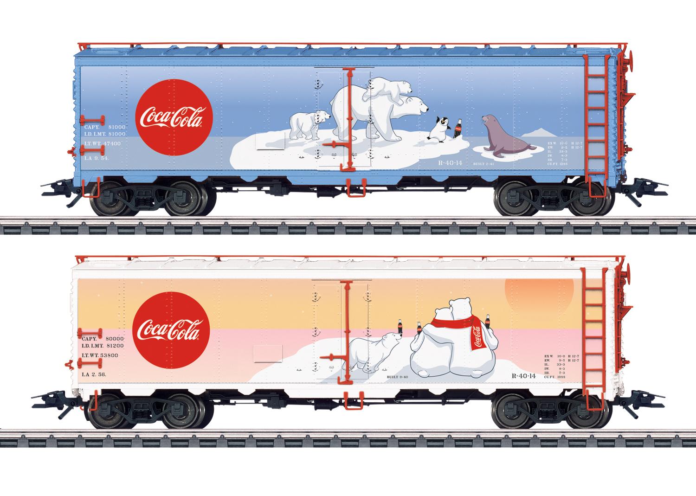 "Güterwagen-Set ""Coca-Cola®"""
