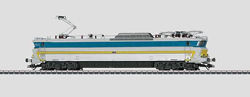 Elektrische TEE-locomotief.