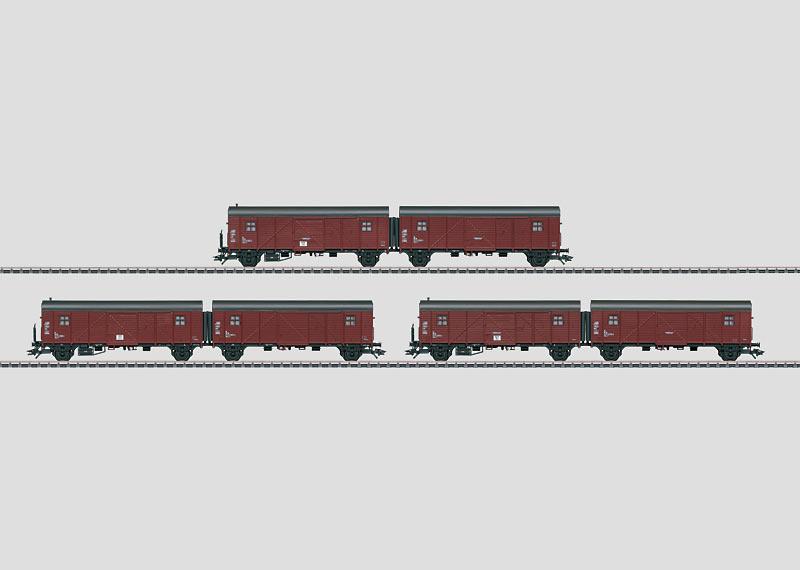 """Leig-Einheiten"" Freight Car Set."
