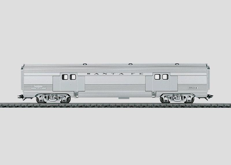 Streamliner Baggage Car.