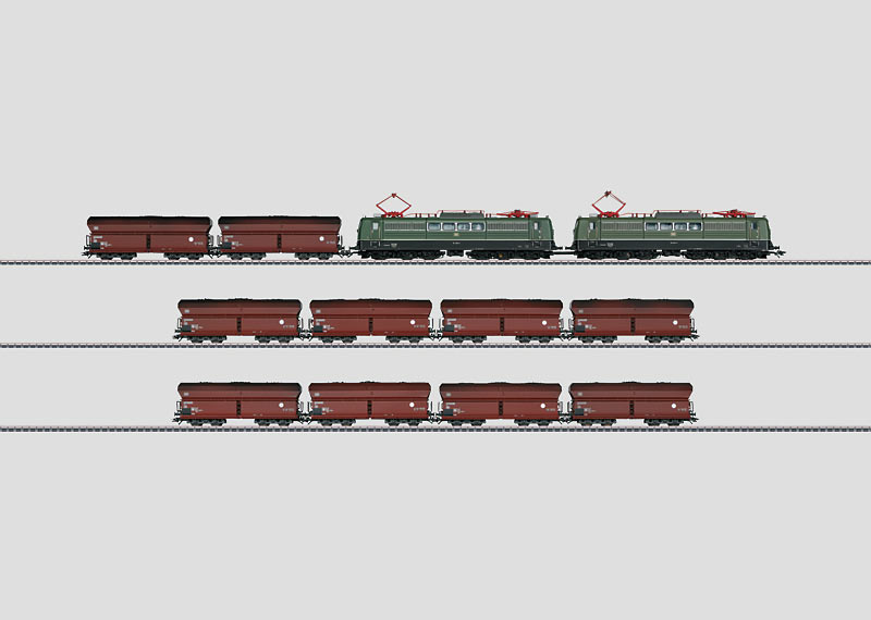 Heavy Coal Train.