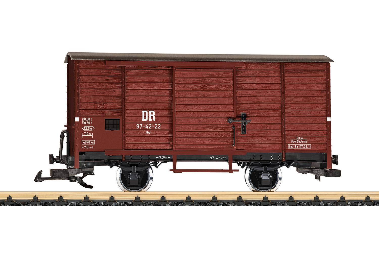 RüBB gedeckter Güterwagen