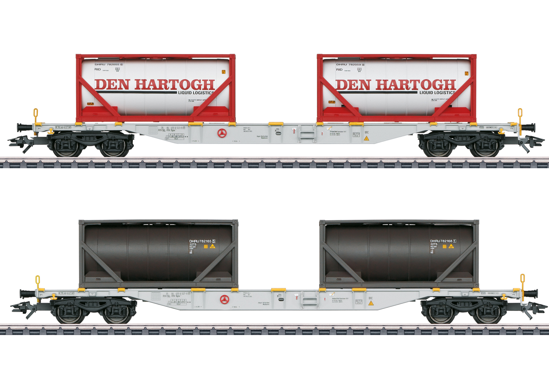 Container-Tragwagen-Set Sgns