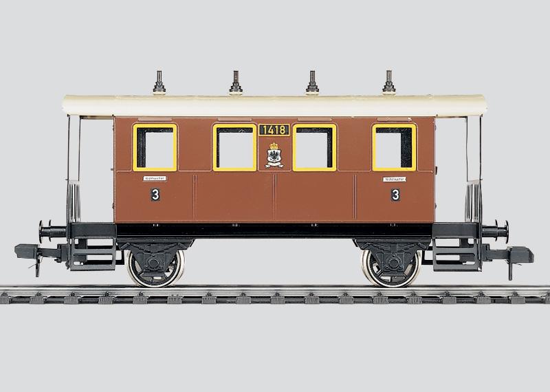 Zweiachsiger Personenwagen, 3. Klasse