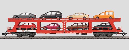 Autotransporter voor reizigerstreinen