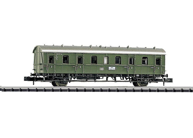 Abteilwagen 2. Klasse.