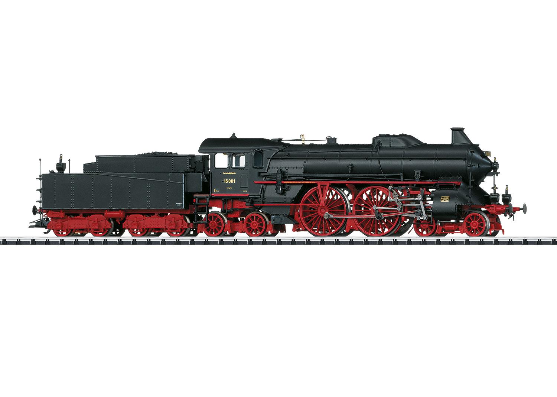 Schnellzug-Dampflokomotive mit Schlepptender