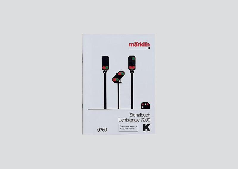 Märklin-Signalbuch für Signale 7200
