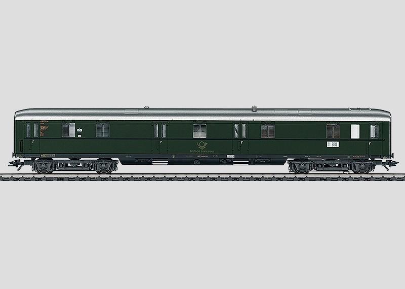 Geräuschwagen für Lokomotiven.