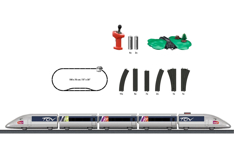 """Märklin my world - Startpackung """"TGV"""""""