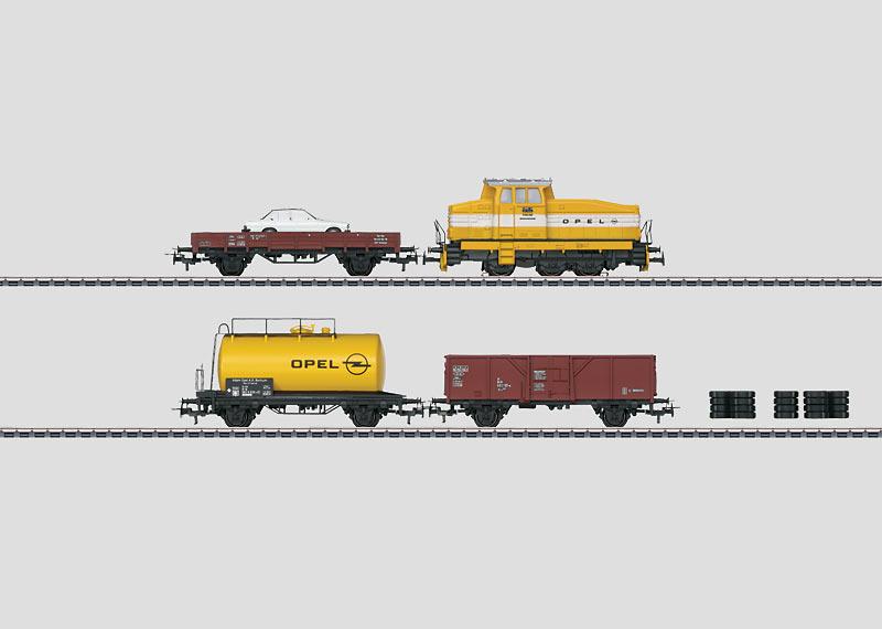 """""""Opel"""" Train Set."""