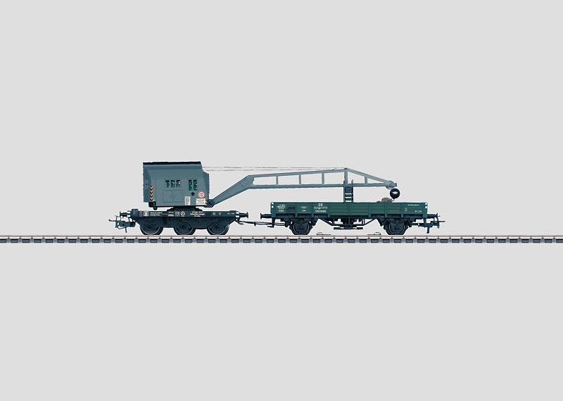 Kranwagen-Set mit Digital-Funktionen.