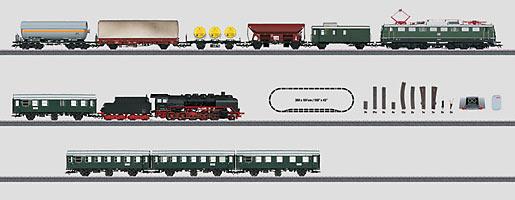 "Mega-Digital-startset ""Bundesbahn"" 230 volt."