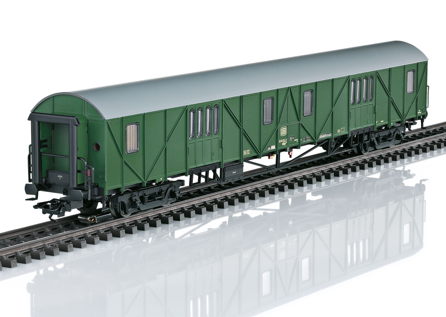 Type MDyge 986 Auxiliary Baggage Car with Sound